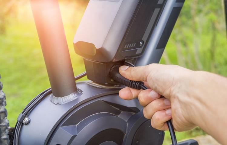 E-bike Akku im Winter